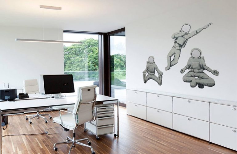 Wall Mural Office